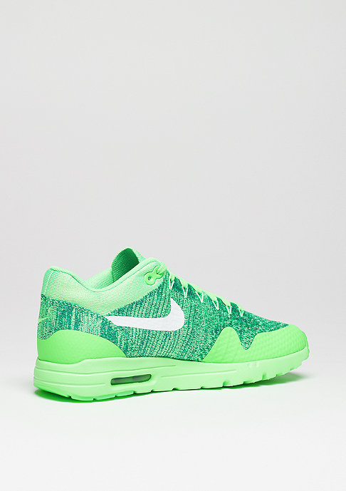NIKE Schuh Wmns Air Max 1 Ultra Flyknit volt green/white/lcd green