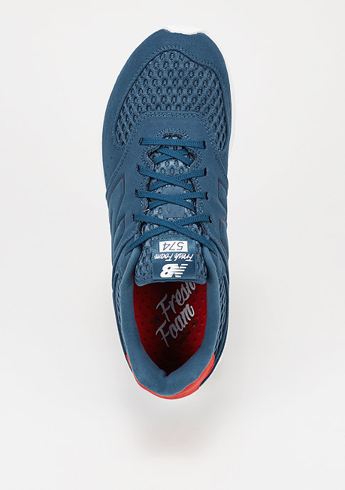 New Balance Laufschuh MFL 574 NG navy/red