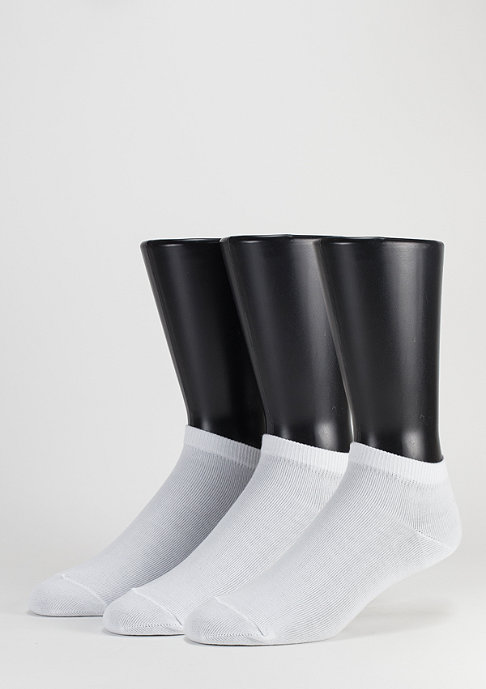 SNIPES No Show Socks 3er Pack white