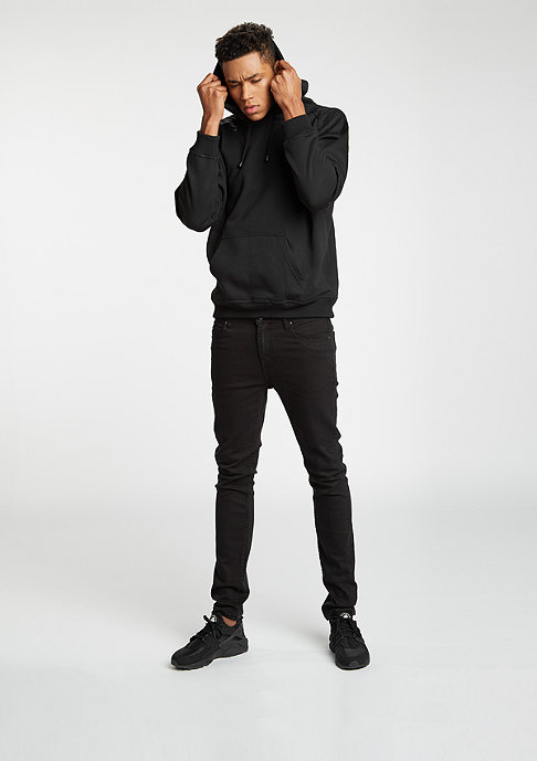 Urban Classics Hooded-Sweatshirt Blank black