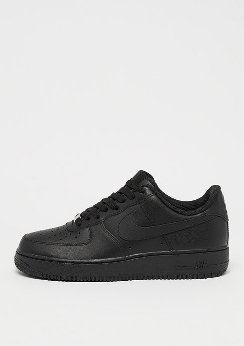 NIKE Schuh Air Force 1 ´07 black/black
