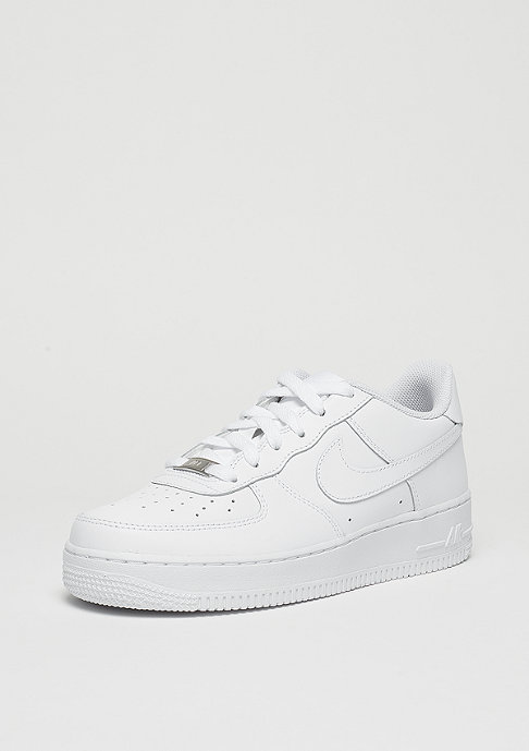 NIKE Schuh Kids Air Force 1 (GS) white/white