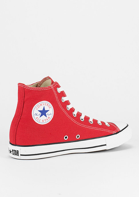 Converse Schuh Chuck Taylor All Star HI red