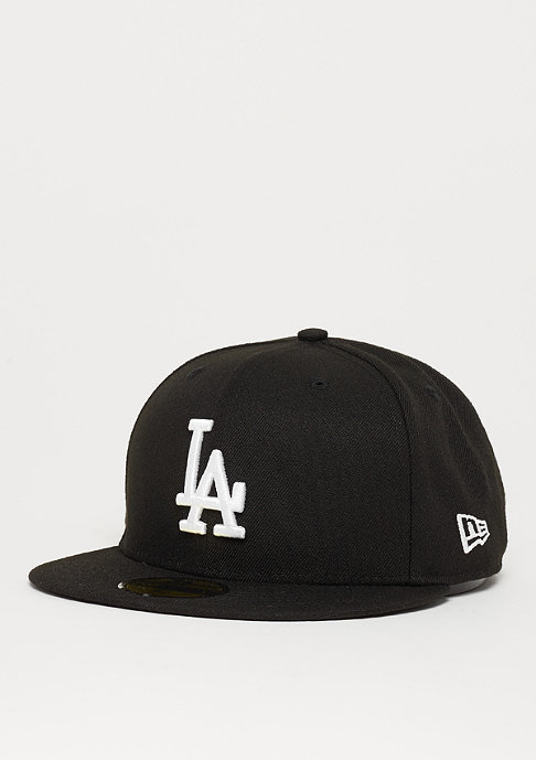 New Era Fitted-Cap 59Fifty Basic MLB Los Angeles Dodgers black