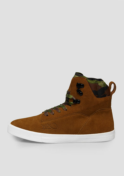 K1X Stiefel State brown/camo