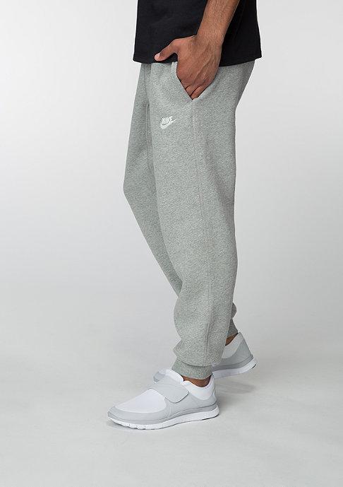 NIKE AW77 Cuff FLC dark grey/white