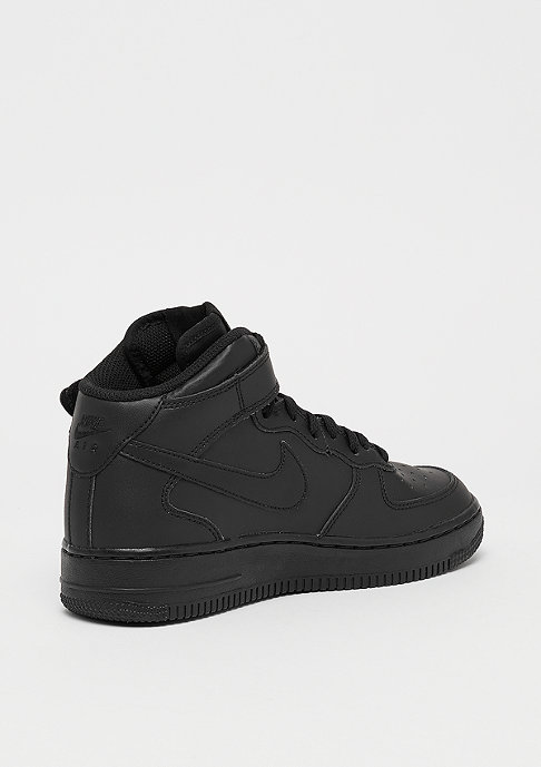 NIKE Air Force 1 Mid (GS) black/black