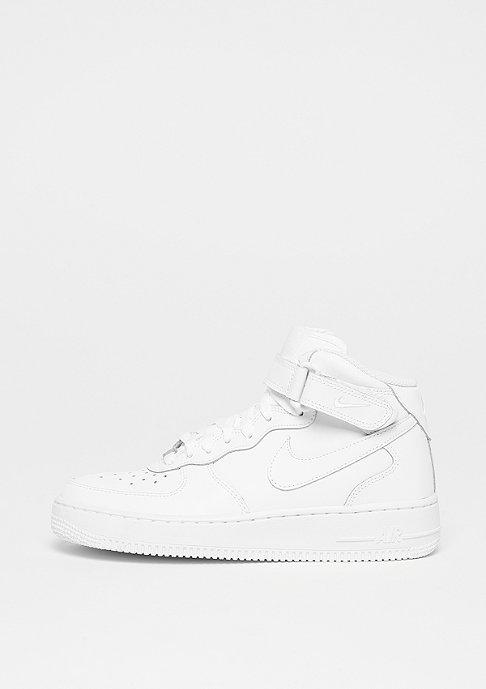 NIKE Air Force 1 Mid (GS) white/white