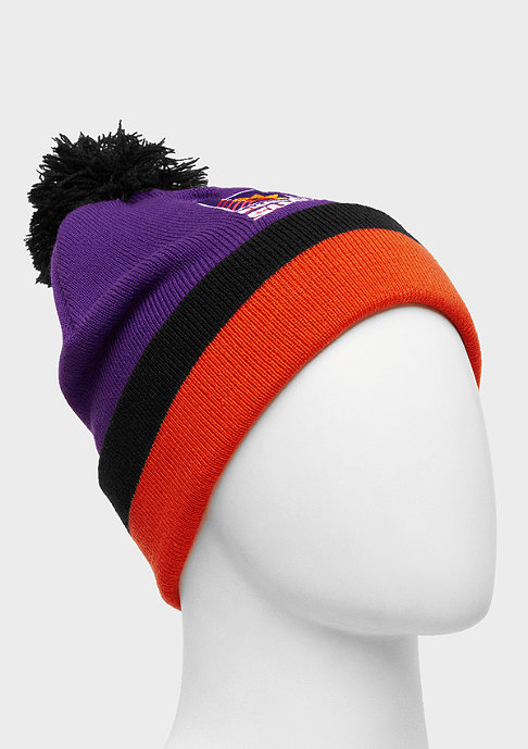 Mitchell & Ness Beanie Jersey Striped Cuff Suns