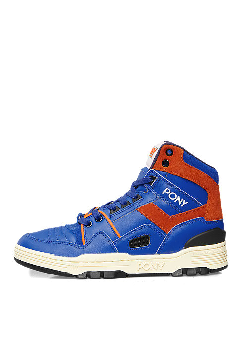 Pony Schuh M-100 blue/orange/white