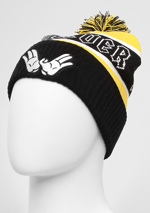 Cayler & Sons Beanie Forever black/yellow