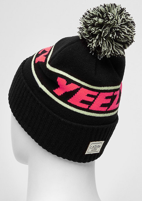 Cayler & Sons Beanie Yeezy blk/pink/fluor