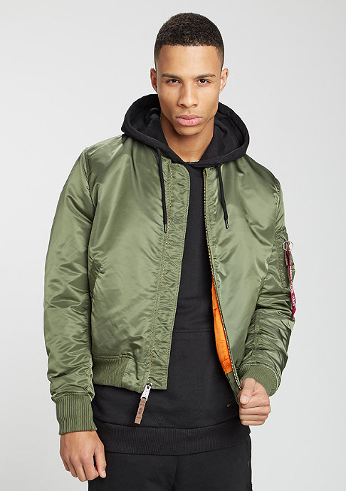 Alpha Industries Übergangsjacke MA-1 VF 59 sage green