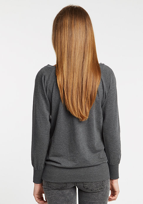 Urban Classics Sweatshirt Wideneck charcoal