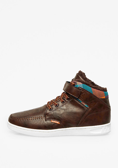 Djinn's Schuh Wunk Fur brown