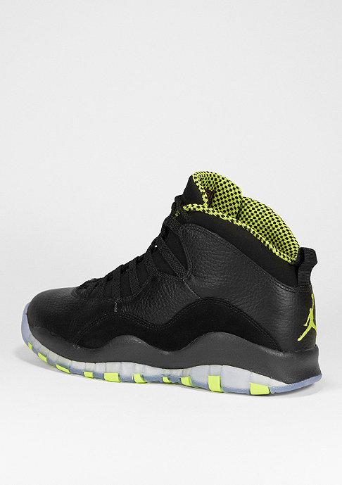 JORDAN Basketballschuh Air Jordan 10 Retro black/v.green/c.grey