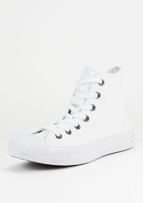 Converse Schuh Chuck Taylor All Star HI white/monochrome