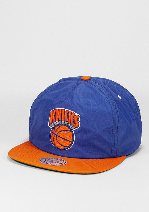 Mitchell & Ness Strapback-Cap Nylon Ripstop 2T New York Knicks royal