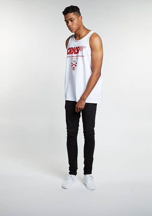 Crooks & Castles Tanktop Rebels white