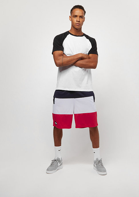 Urban Classics T-Shirt Raglan Contrast white/black