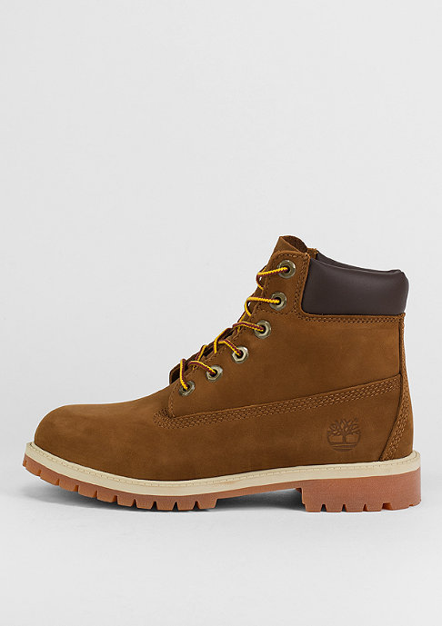 Timberland Kids 6 inch Premium rust/honey