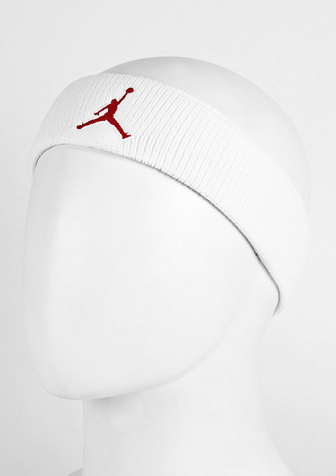 JORDAN Stirnband Jumpman Headband white/black/g.red
