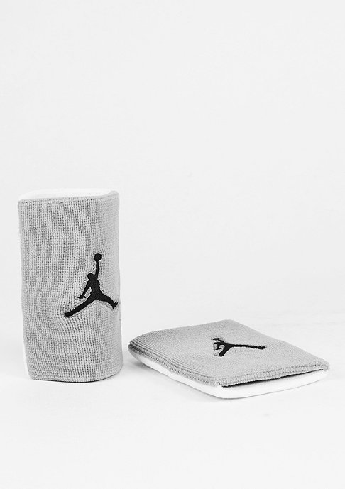 JORDAN Jumpman Wristband wolf grey/white/black