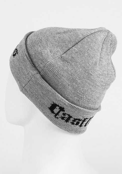 Crooks & Castles Beanie Black Order speckle grey