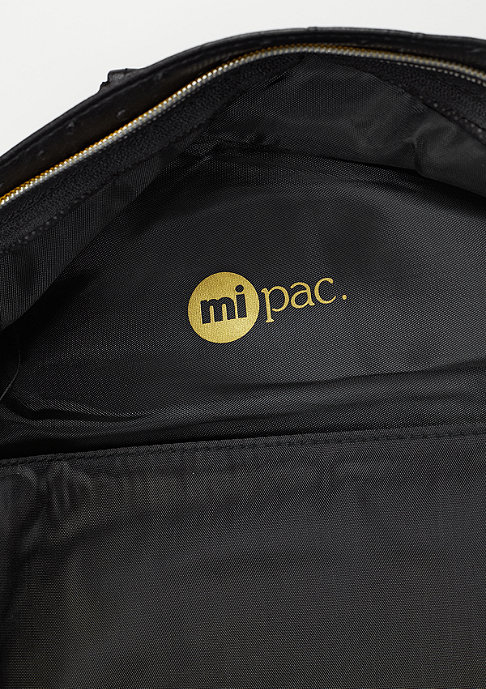 Mi-Pac Gold Ostrich black