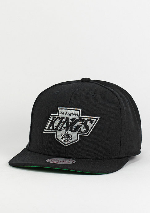 Mitchell & Ness Snapback-Cap Wool Solid Los Angeles Kings black