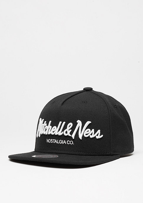 Mitchell & Ness Pinscript black