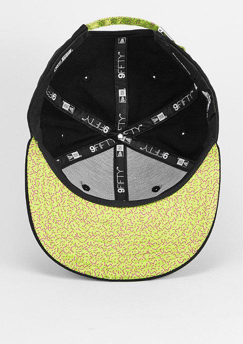 New Era YO! 9Fifty black/limegreen