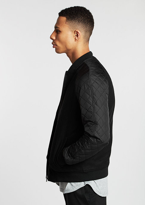 Urban Classics Diamond Nylon Wool black/black