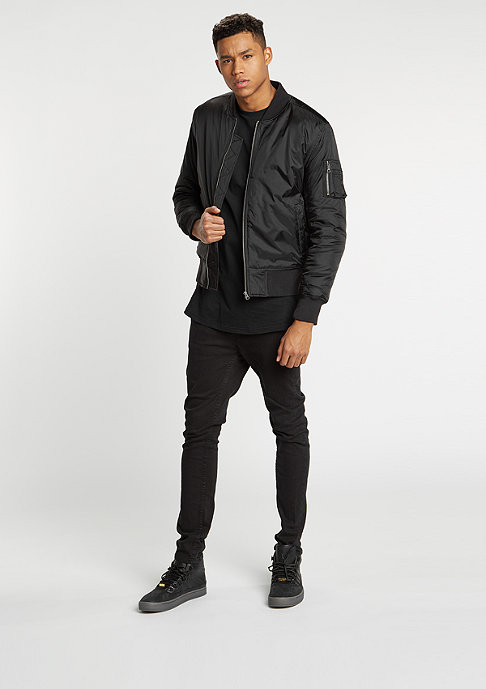 Urban Classics Übergangsjacke Basic Bomber black