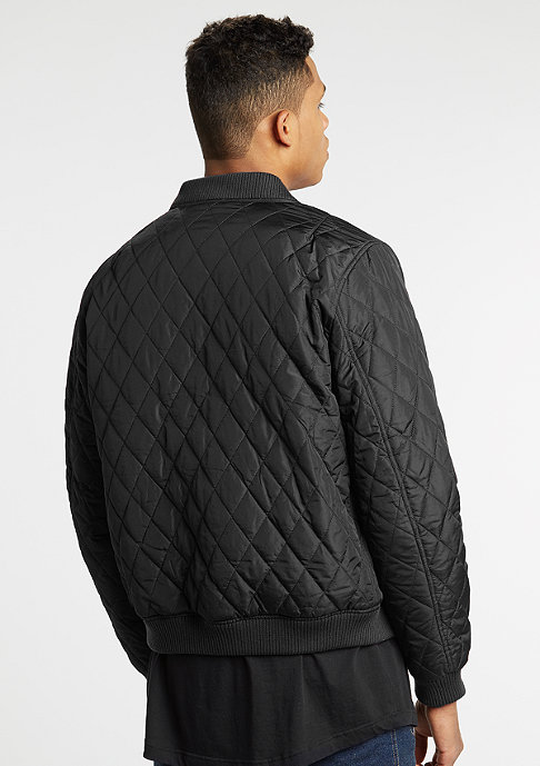 Urban Classics Diamond Quilt Nylon black