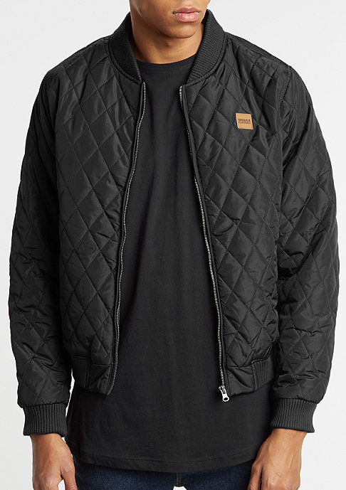 Urban Classics Jacke Diamond Quilt Nylon black