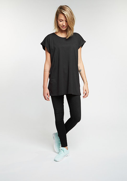 Urban Classics T-Shirt Extended Shoulder black