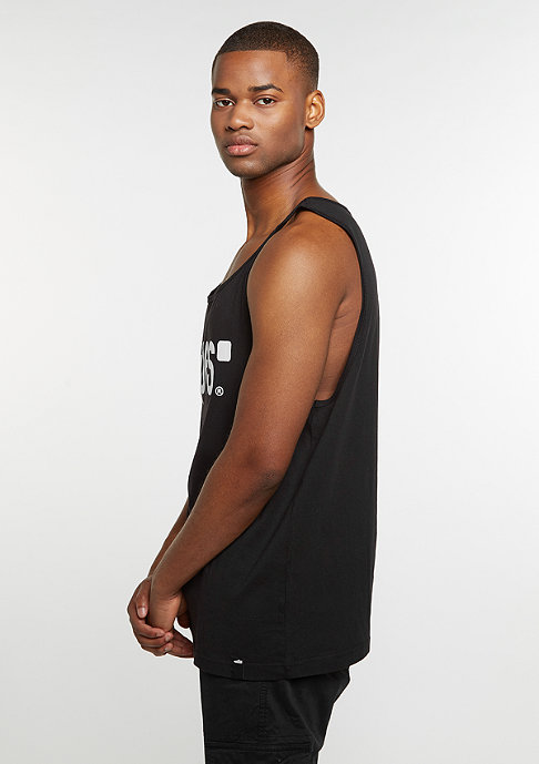 SNIPES Tanktop Jersey Big black/white