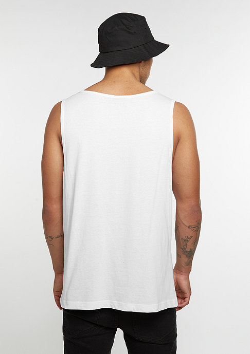 SNIPES Tanktop Jersey Big white/black
