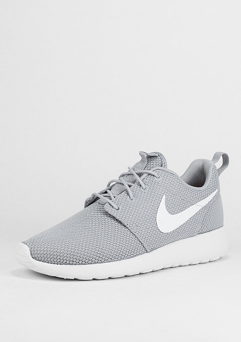 NIKE Laufschuh Roshe One wolf grey/white