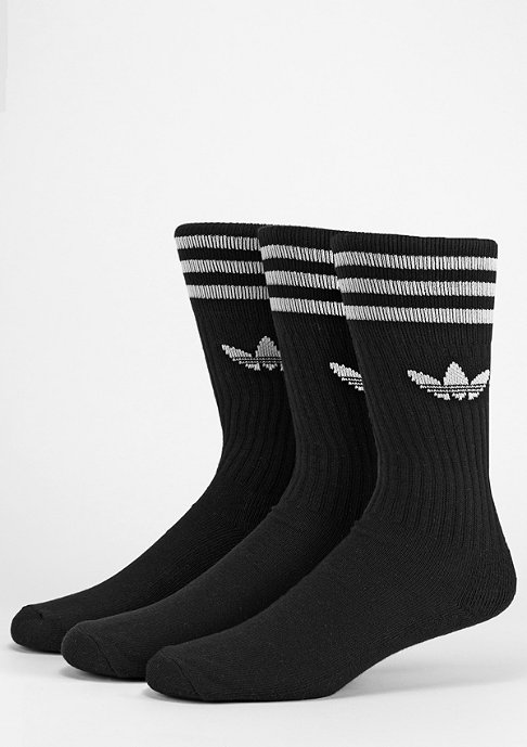 adidas Solid Crew black