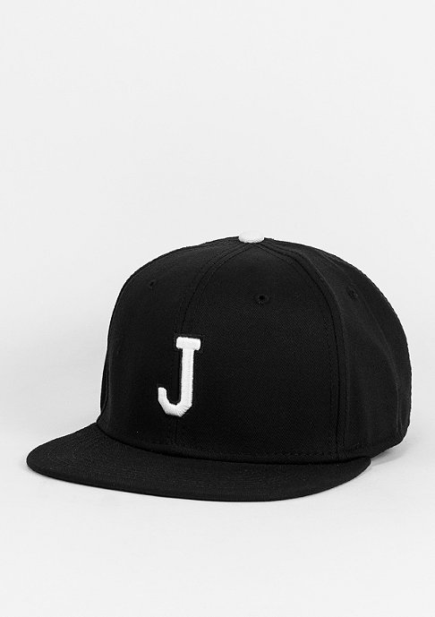 Masterdis Snapback-Cap C3 Letter J black