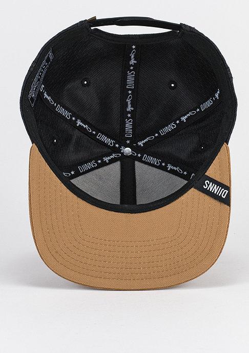 Djinn's Snapback-Cap Linen 2014 black