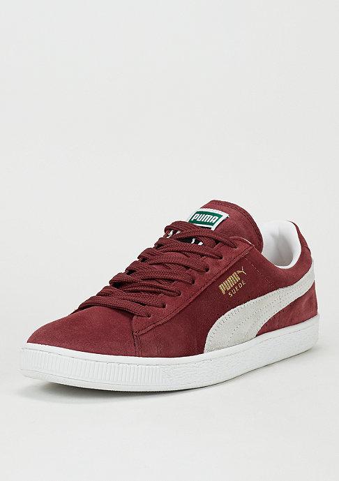 Puma Schuh Suede Classic+ cabernet/white