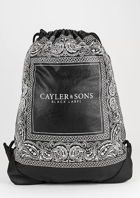 Cayler & Sons C&S Gymsack BL Paiz black/white