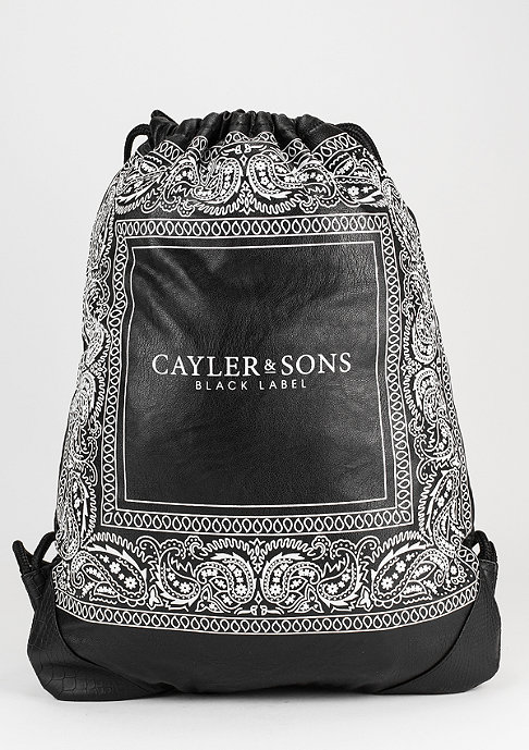 Cayler & Sons Turnbeutel BL Paiz black/white
