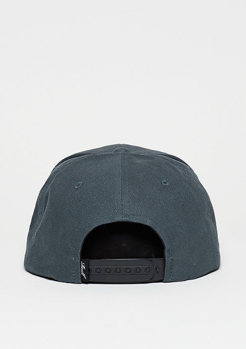 Reell Snapback-Cap Suede 6-Panel charcoal