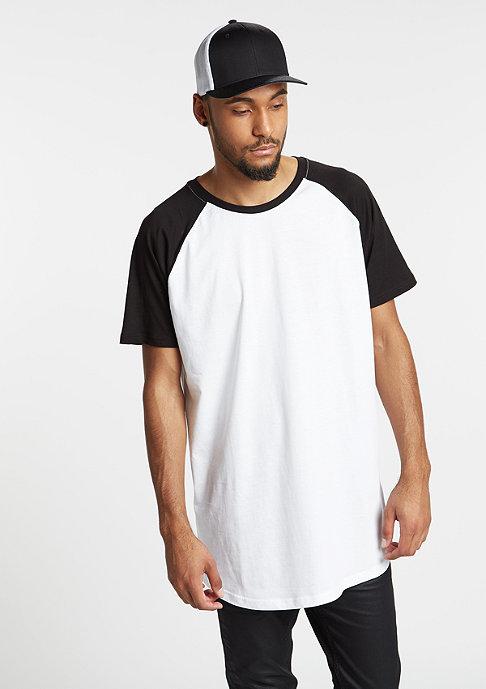 Urban Classics Shaped Raglan Long white/black