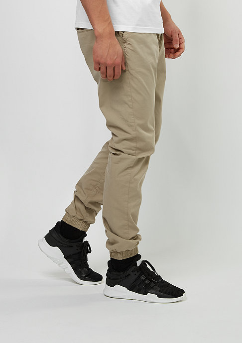 Urban Classics Chino-Hose Cotton Twill beige