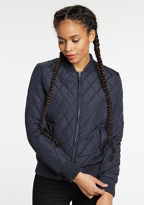 Urban Classics Diamond Quilt Nylon navy